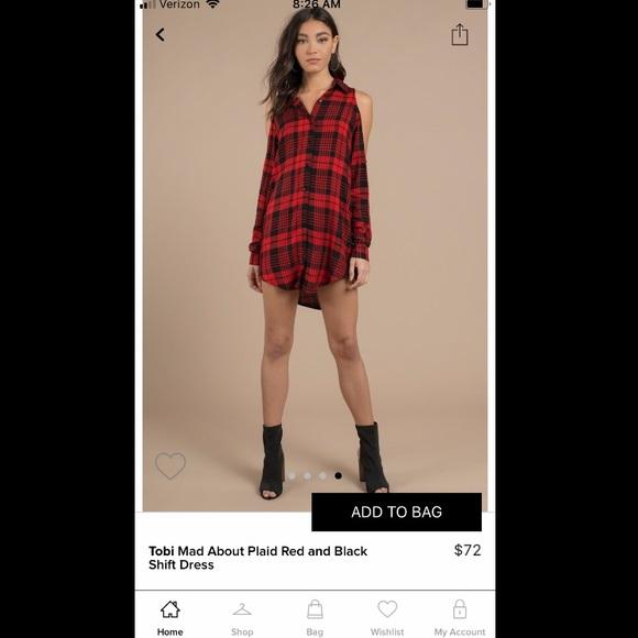 PINK Victoria's Secret Dresses & Skirts - Flannel dress